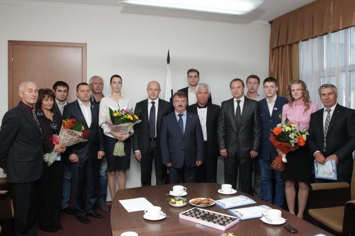Приём у Давыдова, общее фото